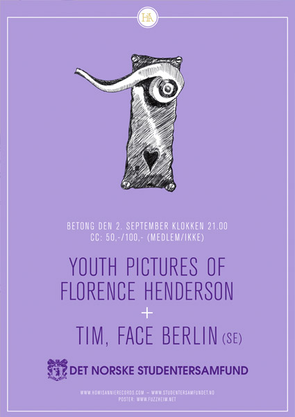 Youth Pictures of Florence Henderson @ Betong, Oslo